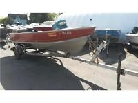 1985 Lund 16ft Boat