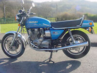 Suzuki GS 850G in all original condition LOW LOW Mileage