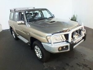 2012 Nissan Patrol GU VII ST (4x4) Gold 5 Speed Manual Wagon Clemton Park Canterbury Area Preview
