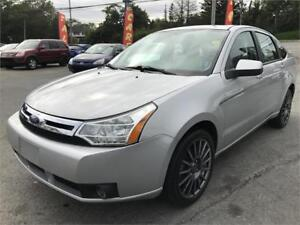 2009 Ford Focus SES NEW MVI, LOW KMS, LOADED LEATHER