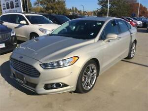 2015 Ford Fusion Titanium AWD one owner just 23.000 km TURBO