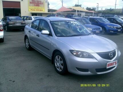 2005 Mazda 3 BK Neo Silver 4 Speed Auto Activematic Sedan Coopers Plains Brisbane South West Preview