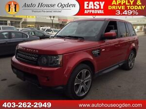 2012 RANGE ROVER SPORT SUPERCHARGED NAVI BCAMERA 90DAYNOPAYMENTS