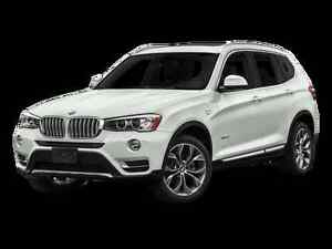 2016 WHITE BMW X3 SUV, Crossover lease take over