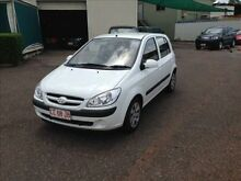 2008 Hyundai Getz TB Upgrade S White 4 Speed Automatic Hatchback Berrimah Darwin City Preview