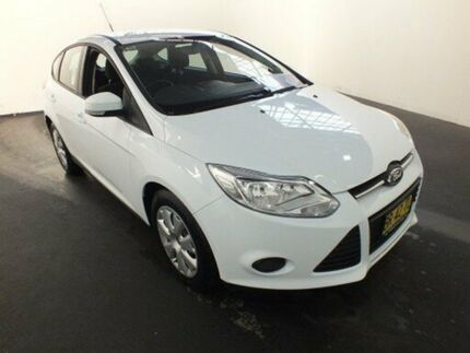 2012 Ford Focus LW MK2 Ambiente White 6 Speed Automatic Sedan Clemton Park Canterbury Area Preview