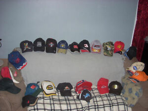 LEATHER coats jackets sports teams harley vests and Bball caps