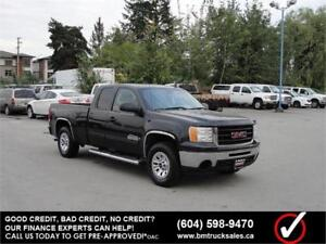 2009 GMC SIERRA 1500 EXT CAB SHORT BOX 4X4