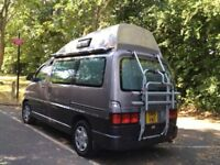 Toyota Granvia hitop campervan, 2008 Wellhouse conversion. 3 ltr diesel turbo, automatic, PAS.