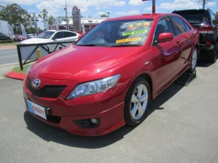 2011 Toyota Camry Sportivo 09 Upgrade Red 5 Speed Auto Active Select Sedan Capalaba Brisbane South East Preview