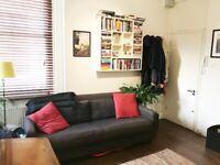 Free! A comfortable 3 seater Habitat fabric sofa.