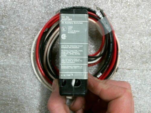 Siemens A02FD64 Auxiliary Switch - 60 day warranty