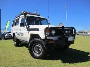2003 Toyota Landcruiser HZJ78R Troopcarrier White 5 Speed Manual Wagon Wangara Wanneroo Area Preview