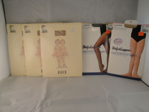 Block and Body Wrappers Tights for Children Lot of 5