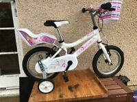Ridgeback Honey Kids Bike (14inch) - White