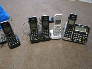 Panasonic KX-TG7841C Link-to-Cell Cordless Phones - 5 handsets