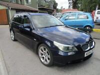 2004 04 BMW 5 SERIES 3.0 530D SE TOURING 5D AUTO 215 BHP DIESEL