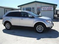 2009 FORD EDGE SEL AWD     PANORAMIC ROOF -  DUAL DVD'S