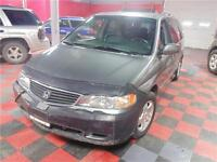 2001 HONDA ODYSSEY 150 KMS NO ACCIDENTS POWER DOORS ONLY $5,900