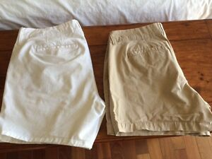2 Pairs of Nearly-New Old Navy Cotton Shorts  (Sz. 6)