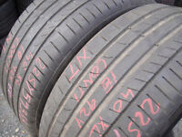 225/40/18 Continental SportContact 5, XL x2 A Pair, 5.0mm (168 High Road, Romford, RM6 6LU) Used