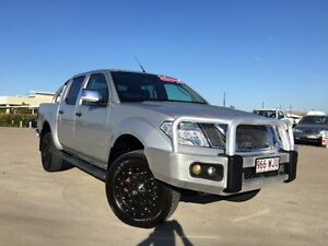 2012 Nissan Navara D40 S5 MY12 ST-X Silver 7 Speed Sports Automatic Utility Garbutt Townsville City Preview