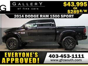 2014 DODGE RAM SPORT LIFTED *EVERYONE APPROVED* $0 DOWN $289/BW