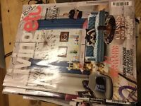 Collection of Living Etc Magazines from 2012-2016