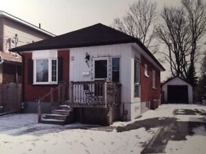 Two Bedroom, Detached House for Rent in a Great part of Oshawa!