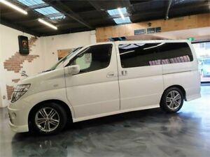 2004 Nissan Elgrand E51 Rider S Pearl White Automatic Wagon Perth Perth City Area Preview