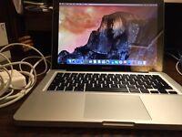 "Apple Macbook Pro 13"" Mid 2009. Upgraded 1TB HDD, 4GB RAM."
