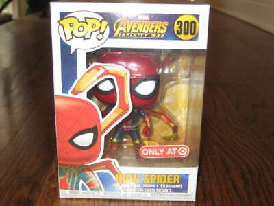 Funko POP marvel Iron Spiderman 300 Target -New  Avengers