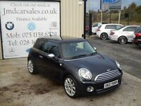 MINI HATCH COOPER 1.6 COOPER D 3d 108 BHP (FINANCE & WARRANTY AVAILA (black) 2007