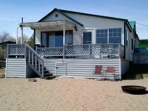 Wasa Lake beach front cottage