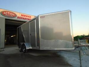 NEO ROUND TOP 7X18 ALL ALUMINUM DRIVE IN/OUT -DISCOUNTED London Ontario image 3