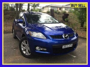 2007 Mazda CX-7 ER1031 Luxury Blue Sports Automatic Wagon Lansvale Liverpool Area Preview