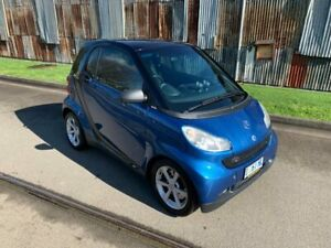 2008 Smart ForTwo 451 MY08 Pulse Blue 5 Speed Seq Manual Auto-Clutch Coupe Invermay Launceston Area Preview