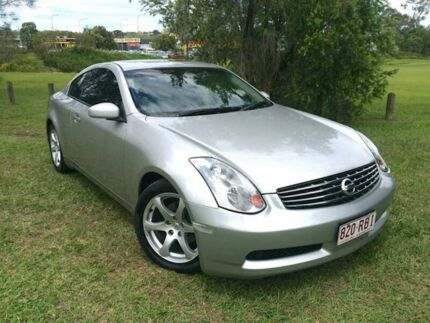 2003 Nissan Skyline V35 350GT Silver 5 Speed Sports Automatic Coupe