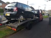 Cash paid for unwanted /end of life vehicles 07926837477