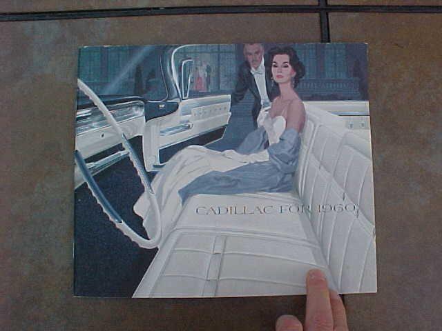 ORIGINAL VINTAGE 1960 CADILLAC BROCHURE / CATALOG