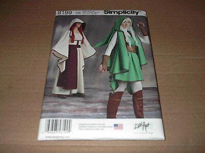 Simplicity Pattern 8199 Misses' Zelda Link Assassins Creed Costume 6 ~ 14  Unc - Assassin Creed Suits