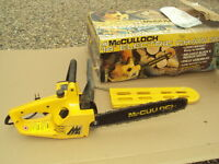 "McCulloch 14""  ELECTRIC CHAIN SAW"