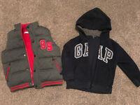 GAP Hoody Age 4, M&Co Gilet / Waistcoat Age 5-6