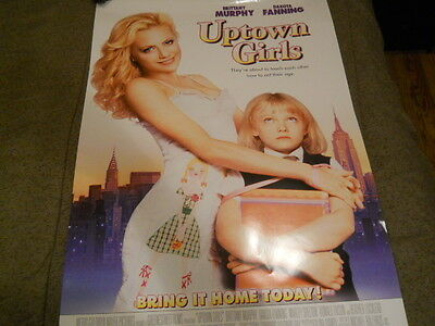 Brittany Murphy, Dakota Fanning - Uptown Girls Video Poster 2003