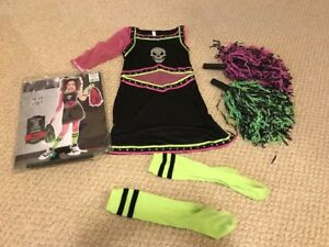 Girls Dead Cheerleader Costume, size 8-10