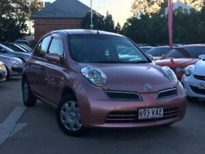 2009 Nissan Micra K12 Pink 4 Speed Automatic Hatchback South Toowoomba Toowoomba City Preview