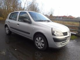 Renault Clio 2003 Silver 1.2 16v Expression 5dr Great First Car!