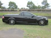 2009 Holden Commodore VE MY10 SV6 Black 6 Speed Manual Utility Mayfield East Newcastle Area Preview