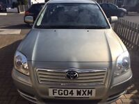 Excellent Condition Toyota Avensis (Silver) 55200 MILEAGE ONLY!