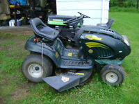 """parting out 17 hp 42"""" yard works hydrostat  lawn  tractor"""